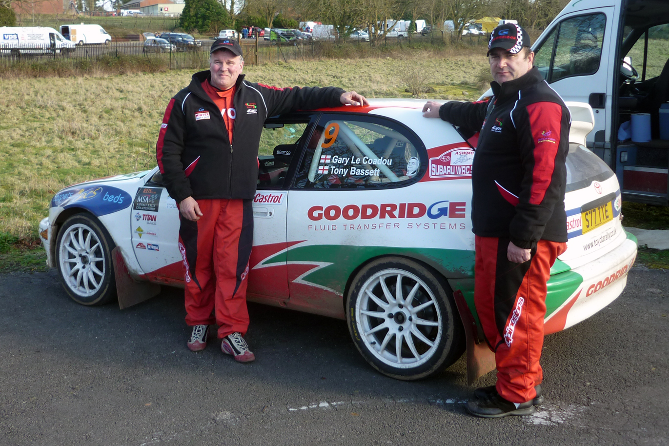 Goodridge Rally Team at Caerwent over the weekend, 1st in class!!