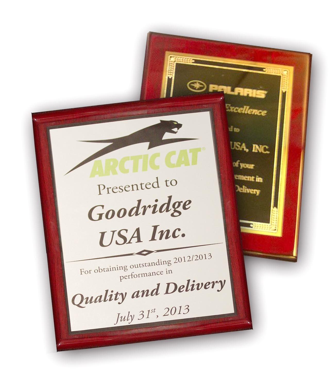 Goodridge – Winners Again!