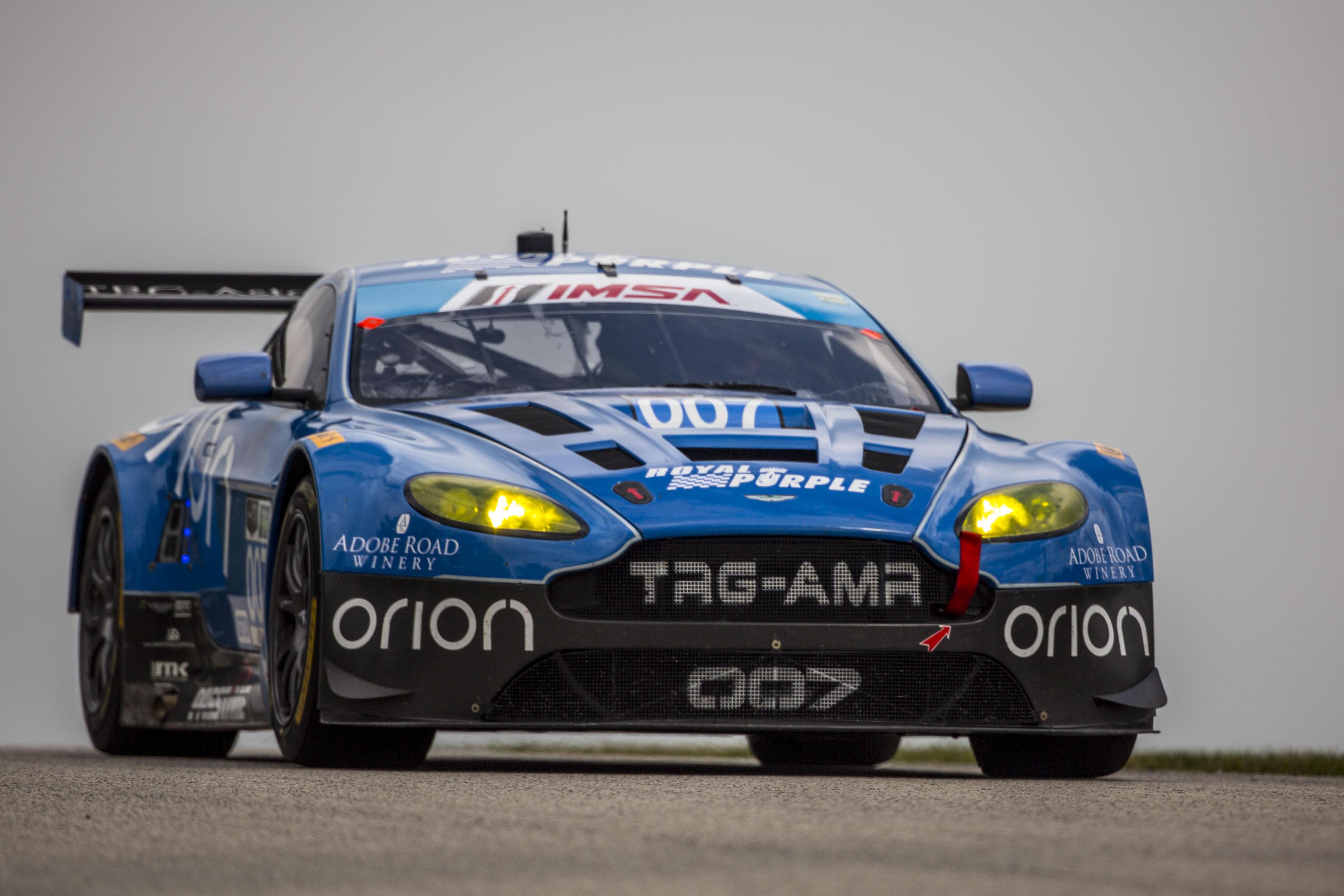 TRG-Aston Martin Racing take GTD series lead in Tudor United Sportscar Championship