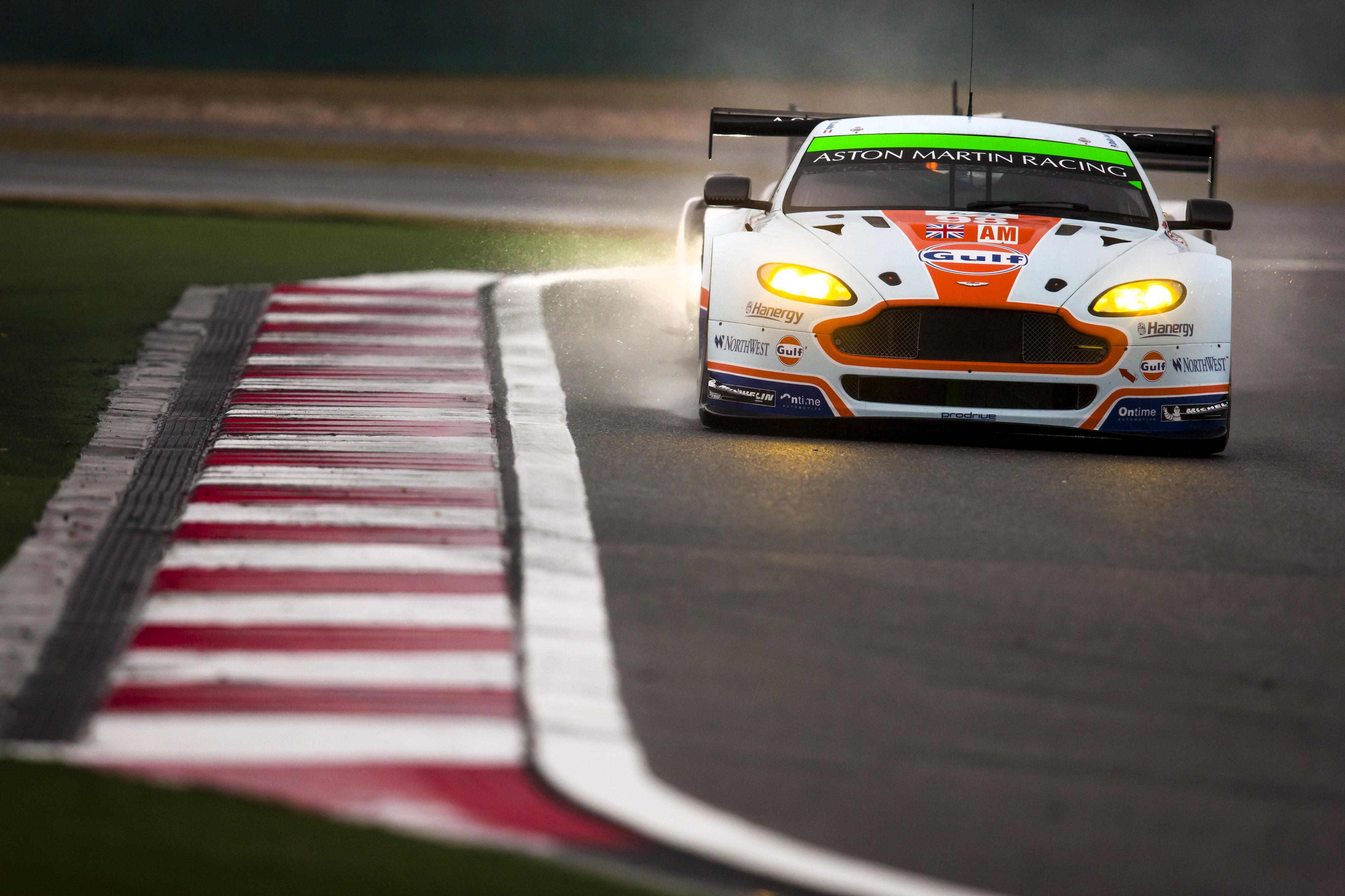 Aston Martin on pole in Macau