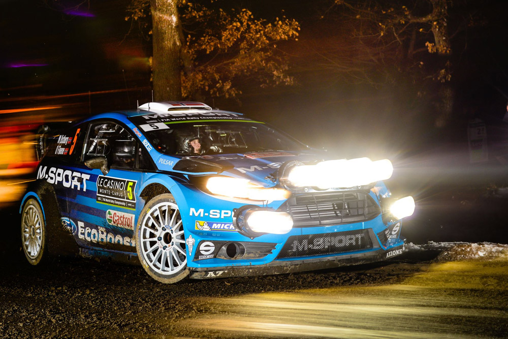 RALLYE MONTE CARLO, SECTION ONE, END OF DAY QUOTES