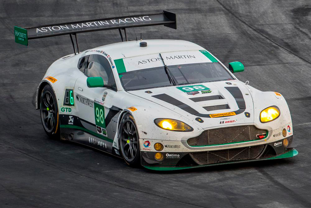 Aston Martin Racing works-supported entry takes Daytona 24 GTD top four finish