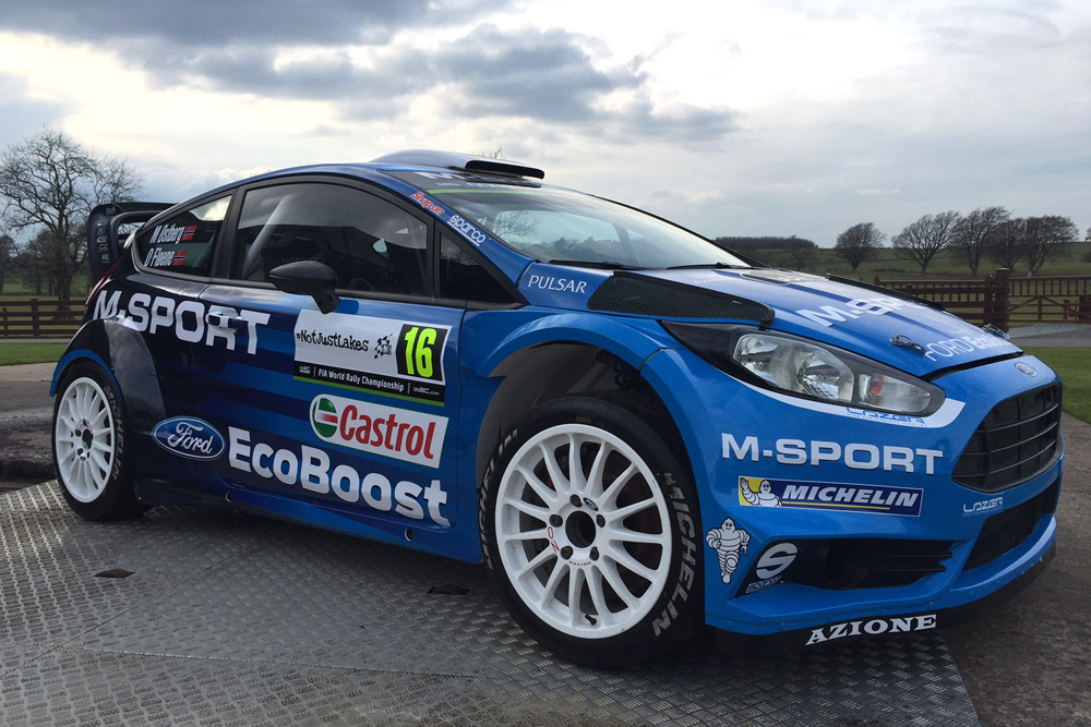M-SPORT SUPPORTS #NOTJUSTLAKES AT MALCOLM WILSON RALLY