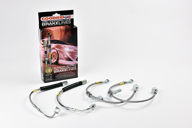 Goodridge Brake Line Kit for new Ford Mustang