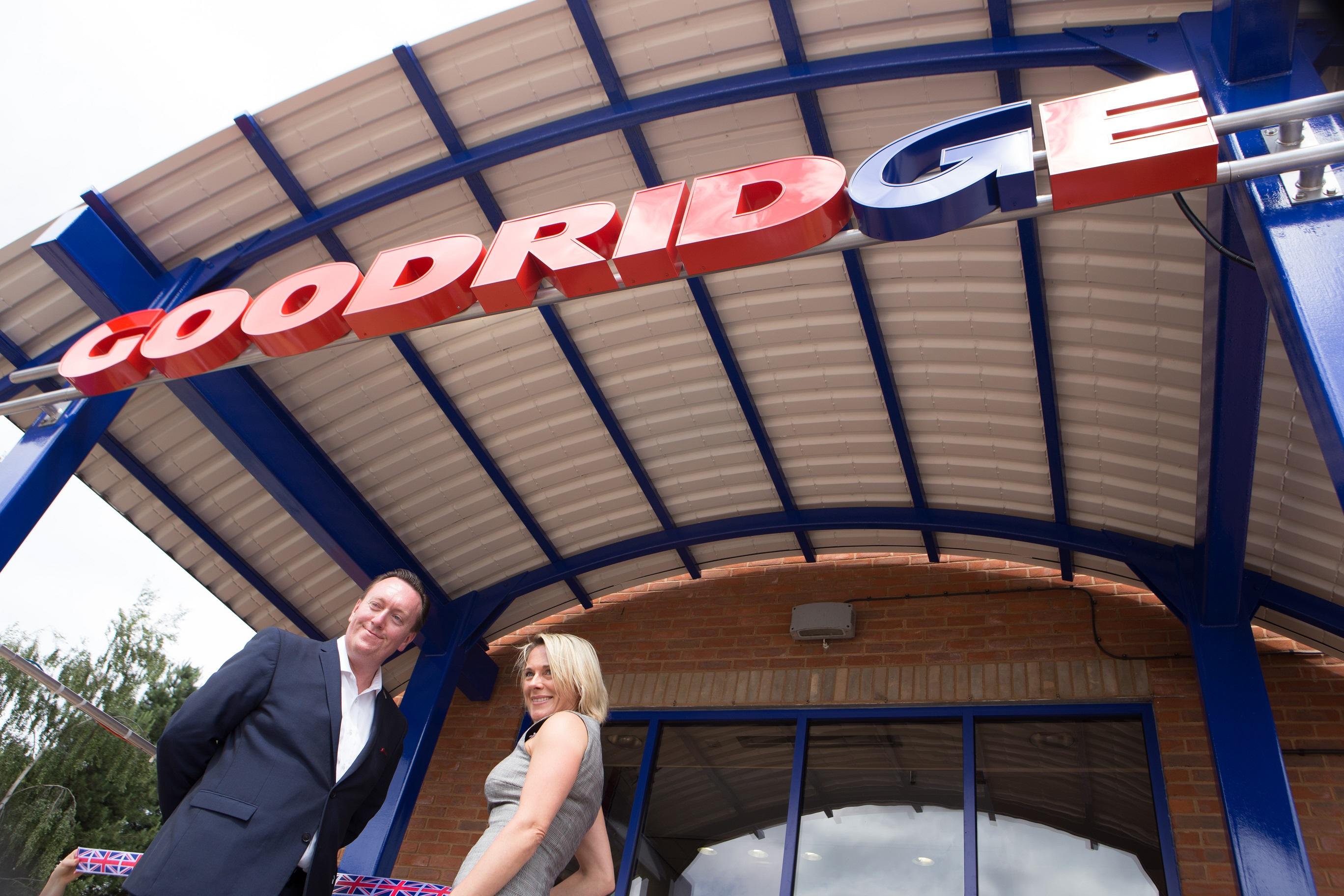 Trudi Goodridge and CEO Jon Hourihan Open Dart Building