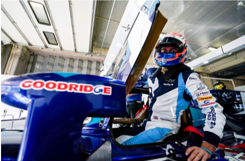 Goodridge renews sponsorship contract with HTR, for 2020 season